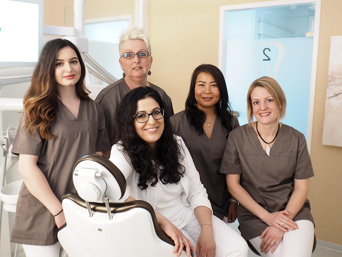 Unser Team in der Zahnarztpraxis Marchegg